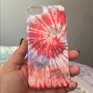 Victoria Secret Pink IPhone 8s case.